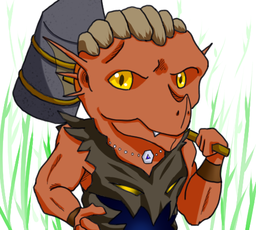 Dragonborn Warden by tacotown