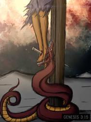 Genesis 3:15 by FullofEyes