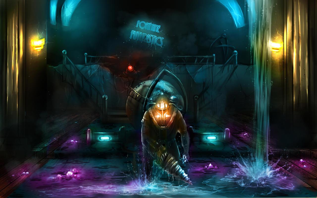 Bioshock2: Leak at Fontaine's by loginatu