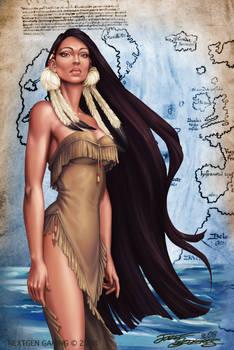 Native American Girl.Szekeres