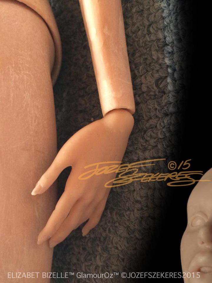 Elizabet Bizelle GlamourOz body teaser by Jozef-Szekeres