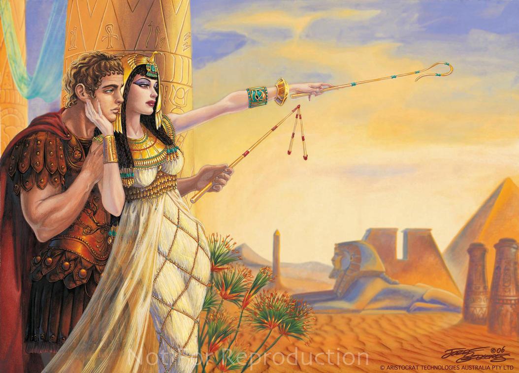 Antony and Cleopatra by Jozef-Szekeres