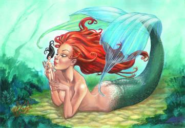 Mermaid and Doll JozefSzekeres
