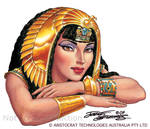Cleopatra.Bent arms.Szekeres