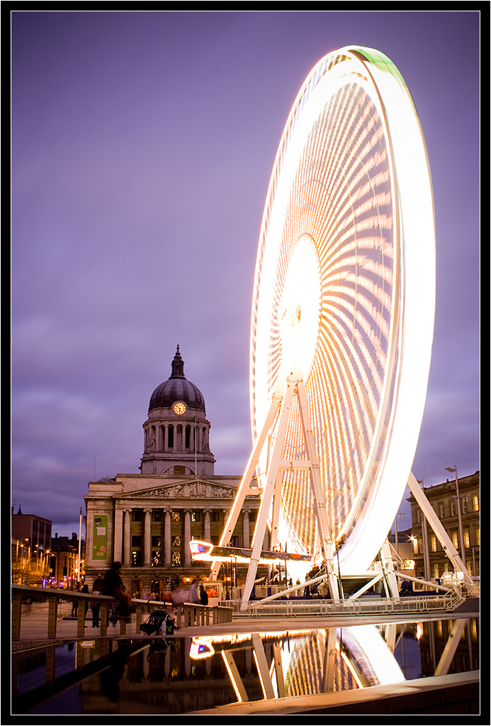 Nottingham ferris wheel I by Wainson