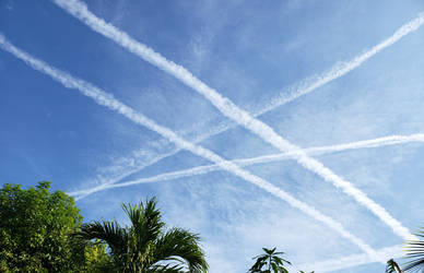 Chemtrail Contrails