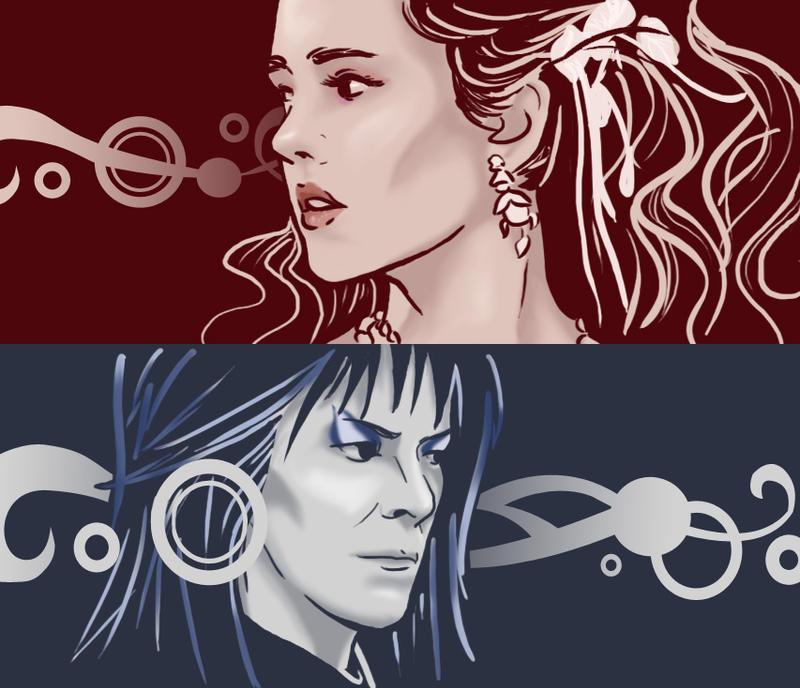 Sarah and Jareth by shesanowheregirl