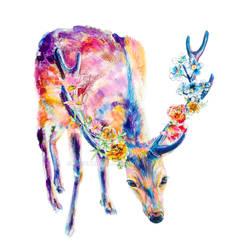 Blooming Deer revised