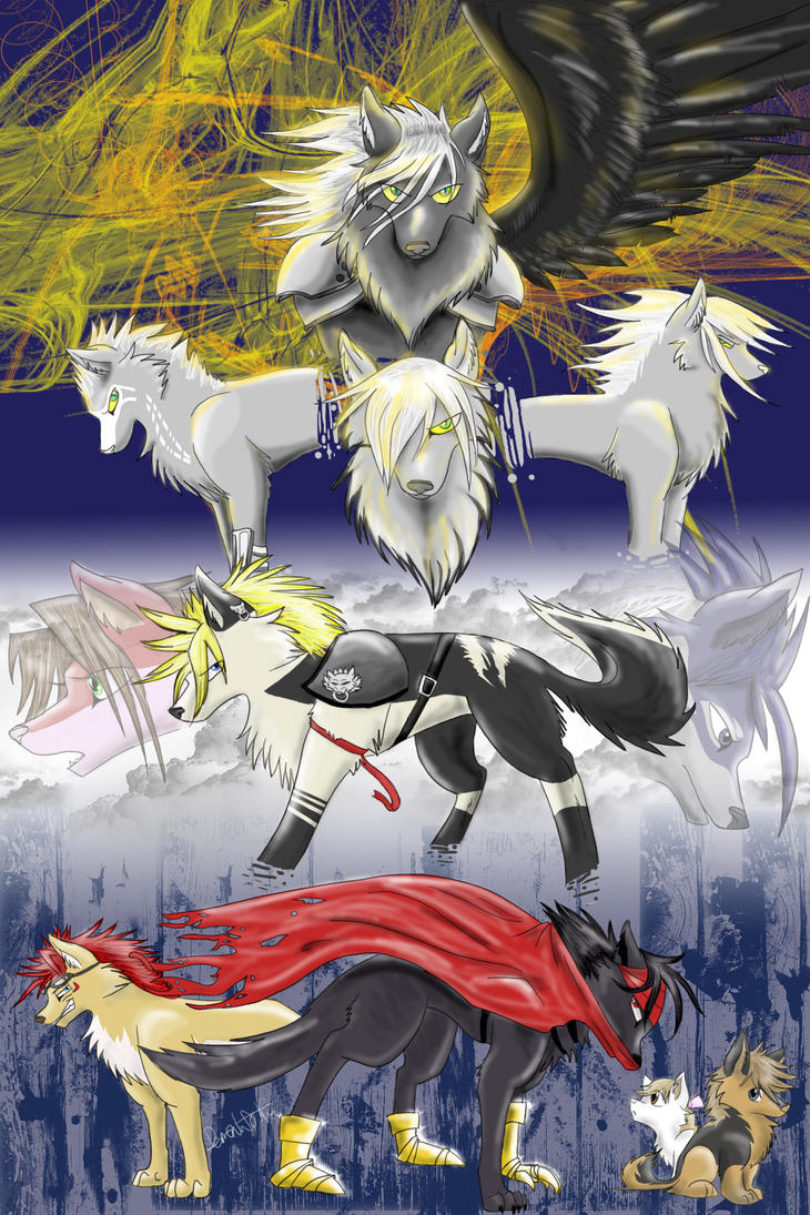 Final Fantasy: Advent Children by yowamushi-chan