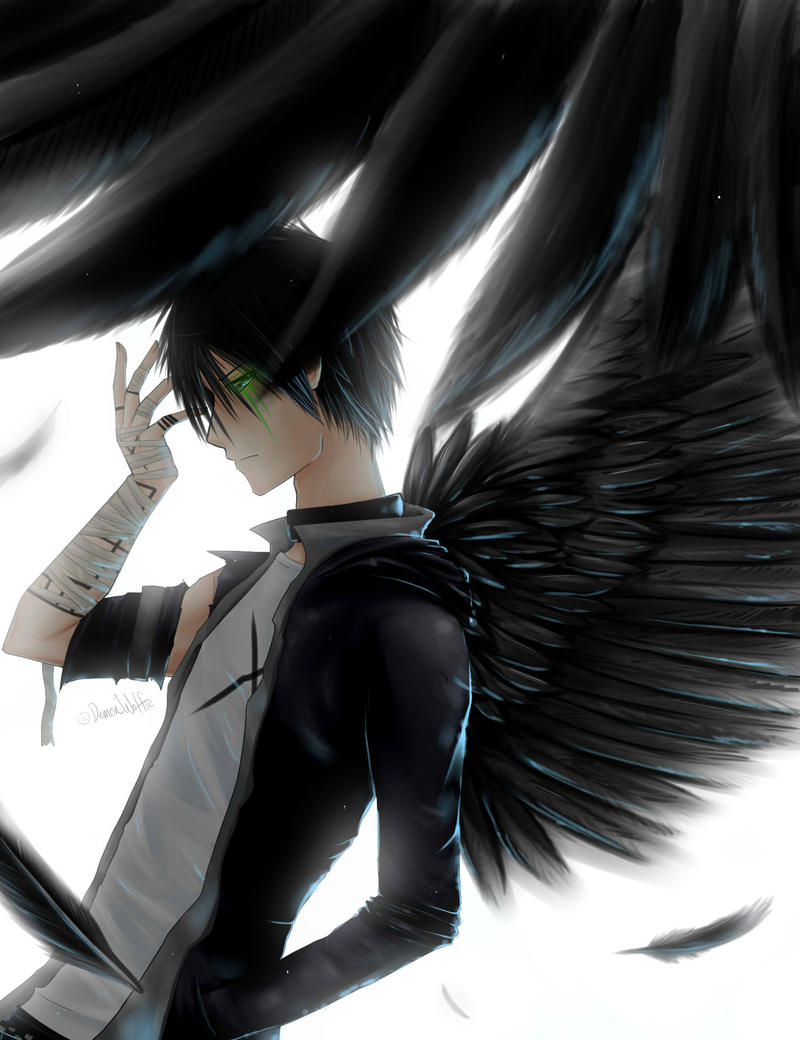 These Dark Wings by yowamushi-chan on DeviantArt
