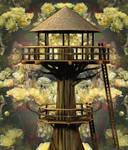 Natures TreeHouse Background