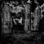 Haunted Buildings Background