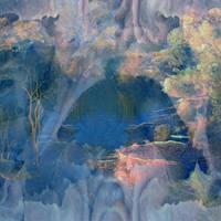 Fantasy Blue Background by mysticmorning