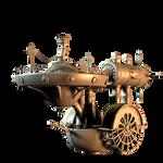 SteamPunk Boat