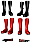 Boots and Gloves png