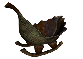 Leaf Boat png by mysticmorning