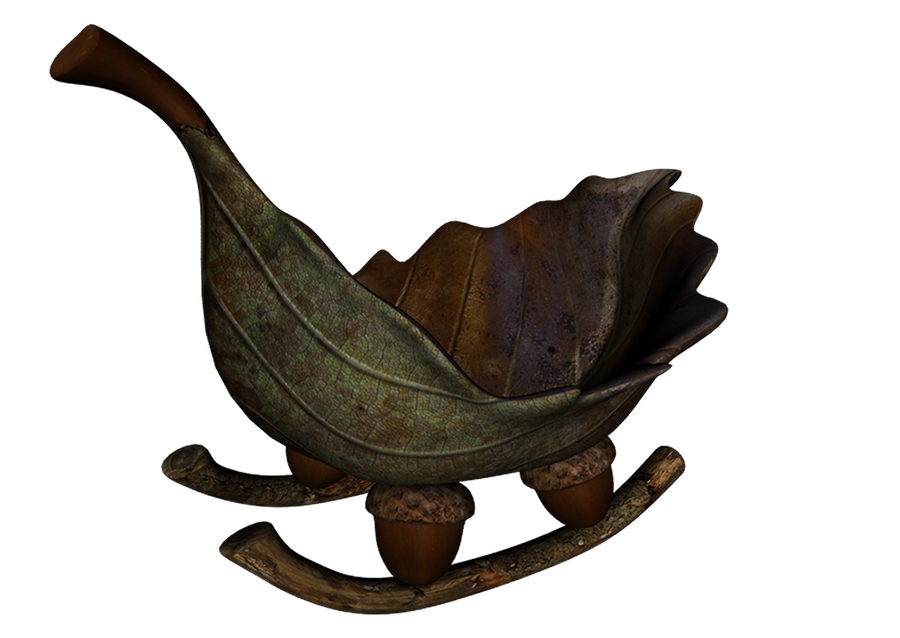 Leaf Boat png