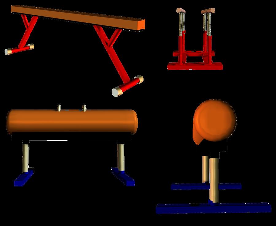 Снаряды для спортивной гимнастики