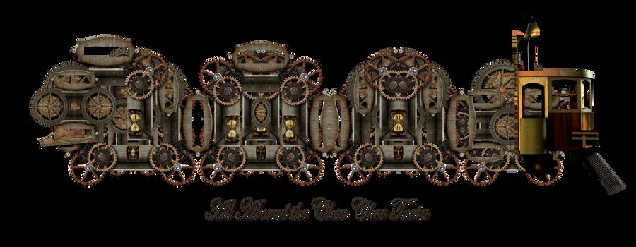 All Aboard the Choo Choo Train by mysticmorning