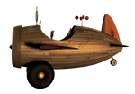 SteamPunk Airplane png