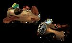 SteamPunk Airplane 3