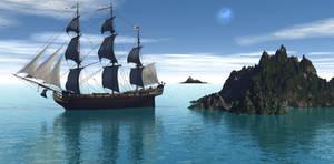 Ship Premade Bckg stock