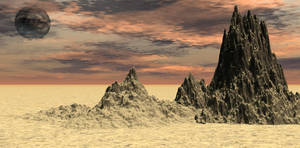 Premade Background sand3