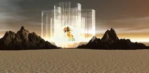 Premade Sci-Fi Backg by mysticmorning