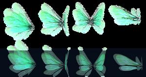 Glowing Wings png