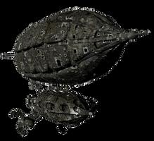 SteamPunk Ship 4 by mysticmorning