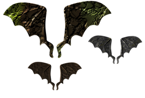 Creature Wings2 png by mysticmorning