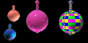 Floating Balls 2 png