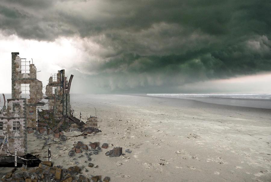 Storm Background stock