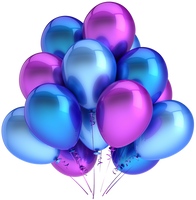 Balloons Stock 2 png by mysticmorning