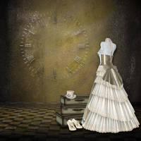 Steampunk Background by mysticmorning