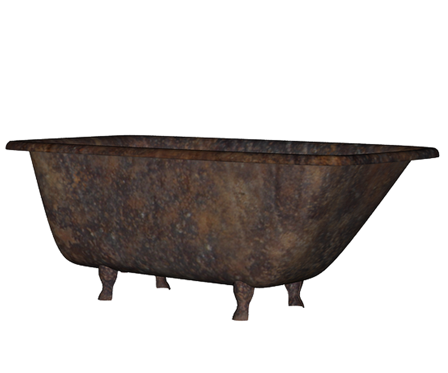 Captivating Rusty Bathtub Png Stock By Mysticmorning ...