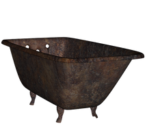 Rusty Old Bathtub 2 png by mysticmorning