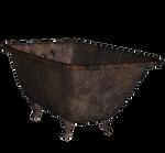 Rusty Old Bathtub 2 png