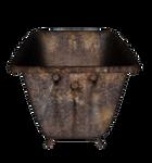 Rusty Old Bathtub 4 png