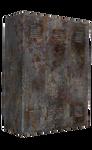 Old Rusty Locker2 png