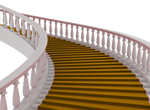 Gold Carpet Stairs png