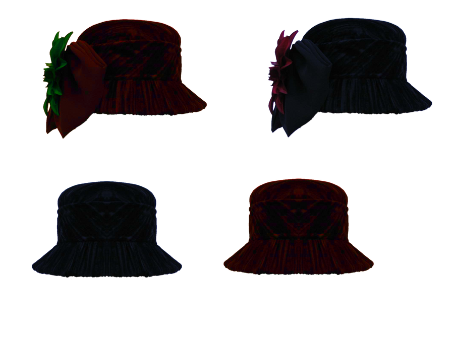 Womens Hats 2 png by mysticmorning