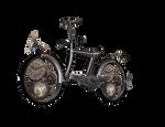 Steampunk Bike png