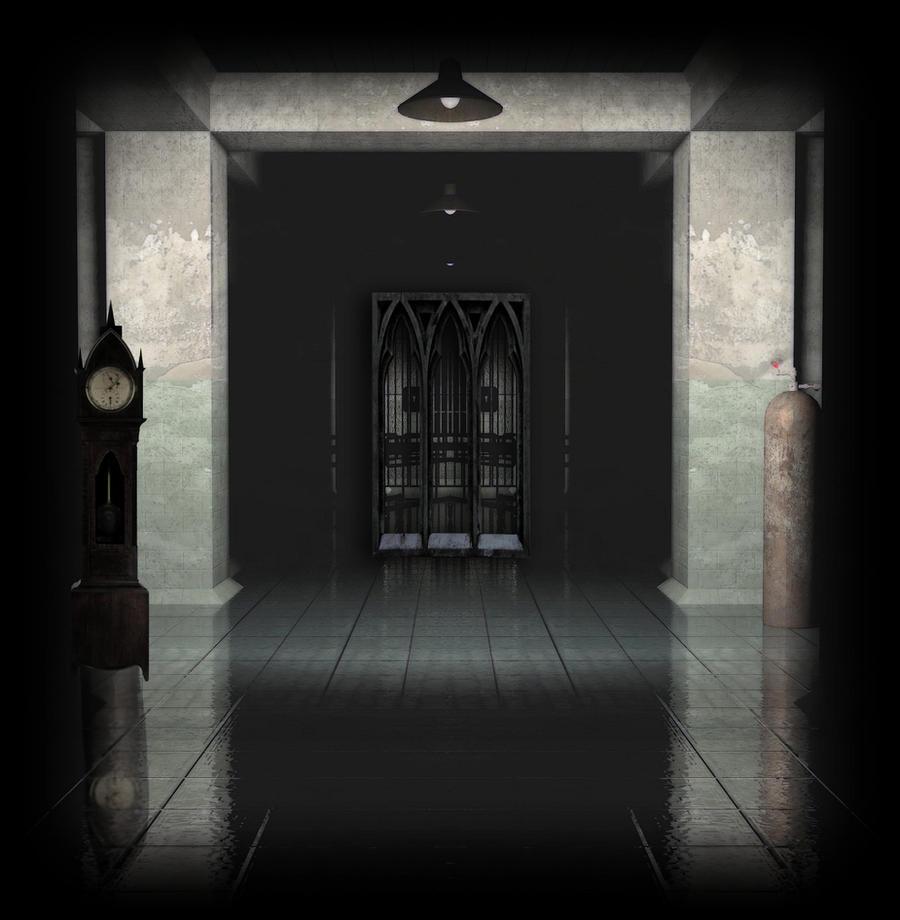Dark HallWay Background by mysticmorning on DeviantArt