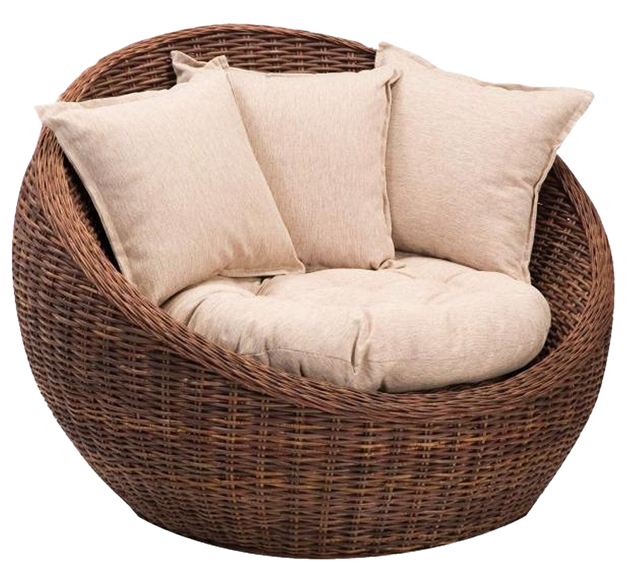 black set for rattan pamono basket chair chairs of at metal sale
