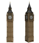 Big Ben Clock png stock