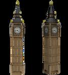 Big Ben Clock png stock