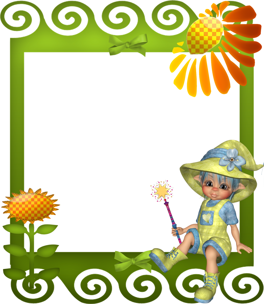 Sunflower Frame Png Sunflower Child Frame by