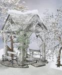 Winter Background stock