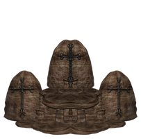 Stone Throne 2 png by mysticmorning
